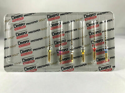 Dentsply Maillefer Protaper Gold Rotary Files Sx-f3 25mm