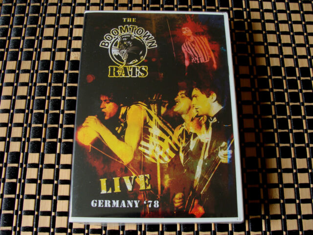 2 4 U: Boomtown Rats : Live Germany '78 : DVD & CD Sealed