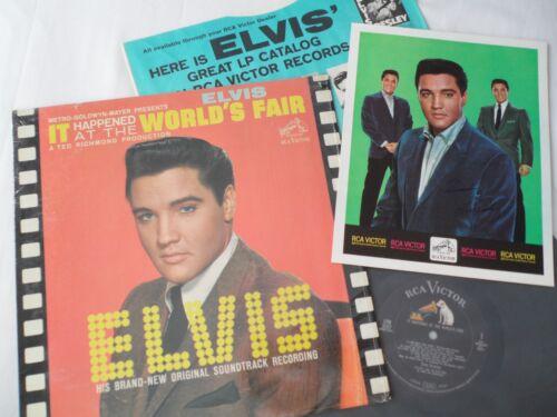 ELVIS Original 1963 1st PRESS__**SHRINK**__World