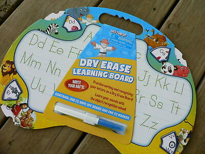 Learning Board & Marker - Alphabet Write ABC Penmanship Children