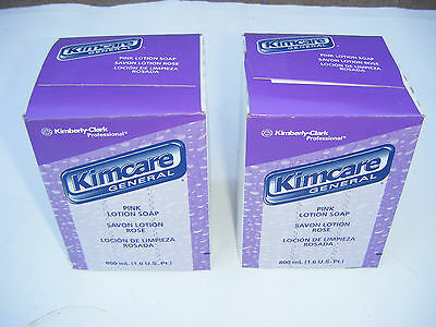 KIMCARE 800 ML. BY Kimberly Clark pink lotion general  soap 2 pcs New