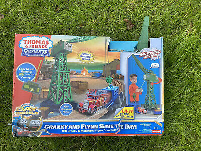 THOMAS & FRIENDS TRACKMASTER HUGE TALKING CRANKY THE CRANE REMOTE CONTROL