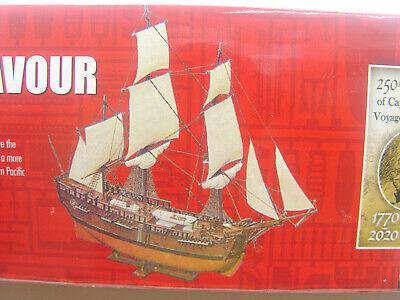 H.M. Bark Endeavour Segelschiff James Cook - Airfix Bausatz 1:120 - 50047 #E