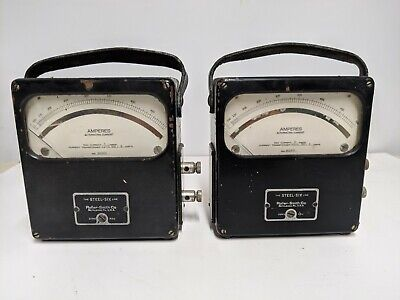 Two Roller Smith The Steel Six Ampmeters