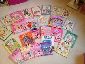 Girls hard cover book lot