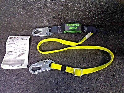 Honeywell Miller Stretchable Shock-absorbing Lanyard 910wls-z76ftyl K