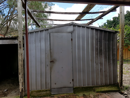Free galvanised shed