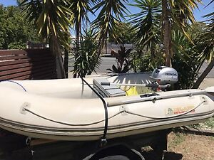Inflatable Rib Boat and Motor Scarborough Redcliffe Area Preview