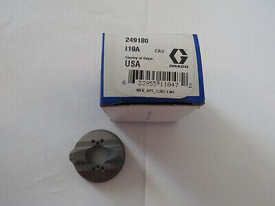 Graco Paint Sprayer Supply Parts 249180 Nozzle Air Cap For G15g40 Flat Face Gun