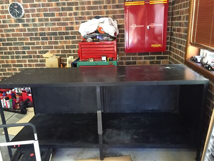 Solid steel work bench Ryde Ryde Area Preview