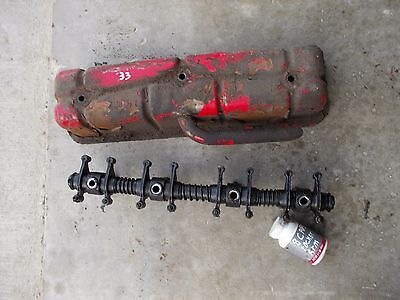 Massey Harris Mh 33tractor Engine Motor Rocker Arm Assembly Parts Cover