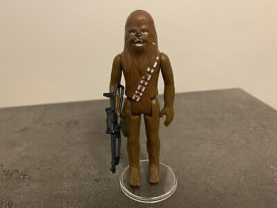 Star Wars Vintage Chewbacca Action Figure 1977 Hong Kong Coo First 12