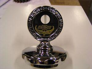 1928 1929 1930 Chevrolet radiator cap with motor meter