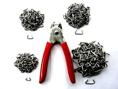 Hog Ring Fasteners Kit Four Sizes Of Stainless Steel Rings With Pliers