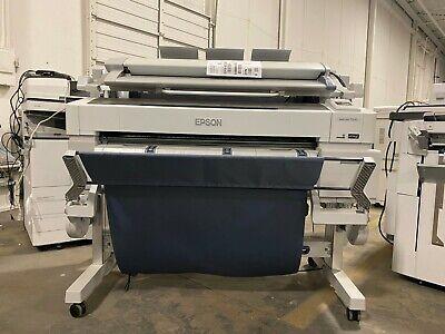 Epson Surecolor T5270 36 Wide Format Color Printer W Scanner - Tn