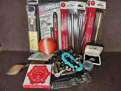 Trash Or Treasure Random LOT #2 (Small FRB)- Jewelry, Pens, Shark Teeth, More