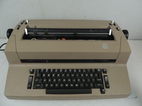 Vintage IBM Selectric II Correcting Electric Typewriter, Beige