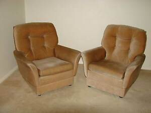 TWO FLEUR ARMCHAIRS (with matching Fleur three seater lounge) Broken Hill Central Broken Hill Area Preview