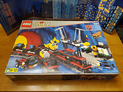 LEGO City Town Train Freight and Crane Railway 4565 9V incomplete with extras