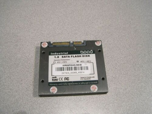 """APRO Rugged 1.8"""" SATA SSD Flash Disks with Fast Erase & Secure Erase"""