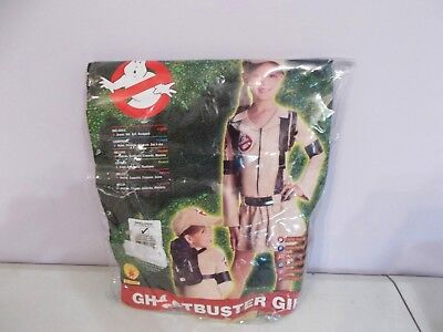 New Rubie's Ghost Buster Girl Costume Halloween Small 4 - 6
