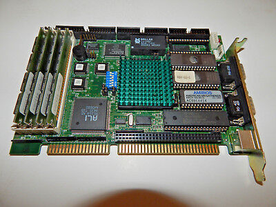 Sbc-430 486dx Industrial Cpu Card Rev. B Single Board Computer