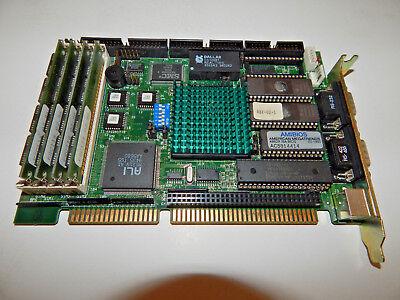 Sbc-430 486dx Industrial Cpu Card Rev. B Single Board Computer