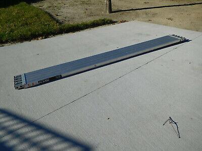 Little Giant Telescopic Plank Scaffold Aluminum Walkboard 250lb 10 To 16 Feet