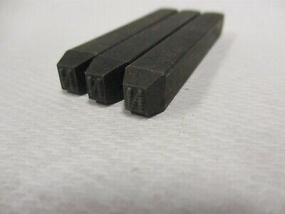 Letter N Machine Made Individual Steel Stamp 18 Character Height Lot Of 3 Pcs