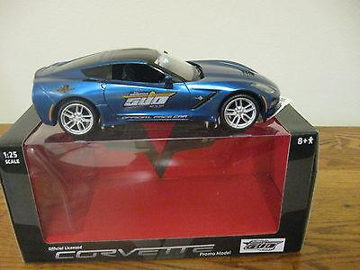 2014 C7 Corvette Stingray Indy 500 Pace car official promo model car promotional