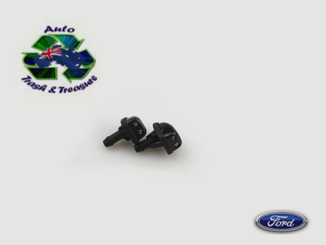 WINDSCREEN WASHER JETS FORD NU FAIRLANE 98-02 NEW PAIR GENUINE