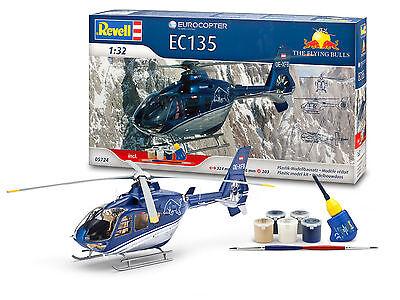 Revell - Geschenk-Set Eurocopter EC135 Flying Bulls, 1:32, NEU, OVP, 05724