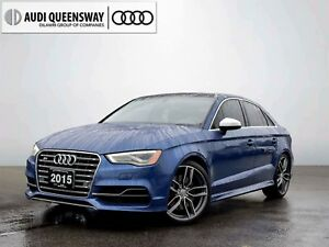 2015 Audi S3 2.0T Technik, No Accidents, Service Records, 19's