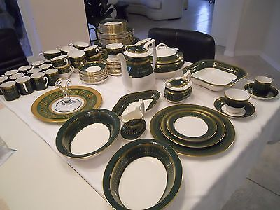 Royal Windsor Spode China- Service for 12 with additional serving pieces and tea