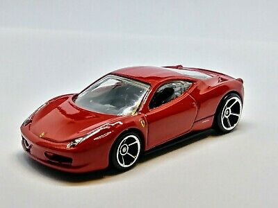 Hot Wheels Ferrari 458 Italia.
