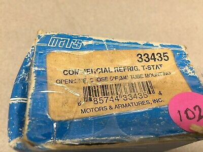 New In Box Mars Commercial Refrig T-stat 33435