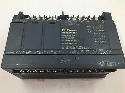 Ge Fanuc Ic200udr005-bg Versamax Micro 28 Io Plc Controller 100-240vac 24vdc