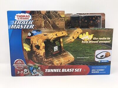 Fisher Price Thomas and Friends Track Master Diesel Tunnel Blast Toy Set FJK24