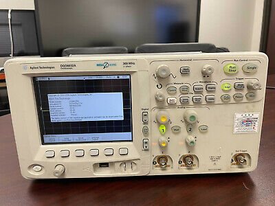 Keysight Agilent Dso6032a 300mhz 2gss 2ch Oscilloscope
