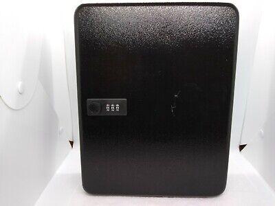 96 Key Cabinet Steel Storage Safe Box Secure Combination Lock Wall Mount Black