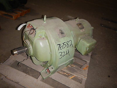 40 HP Eaton Variable Speed Electric Motor, ACM 912, 220-1710 RPM, 90 V Clutch