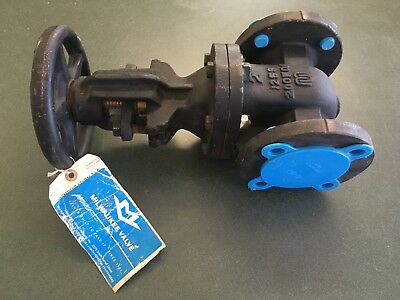 Milwaukee Valve 2885a - 200 - 2 Cast Iron Flanged Gate Valve - New - Usa