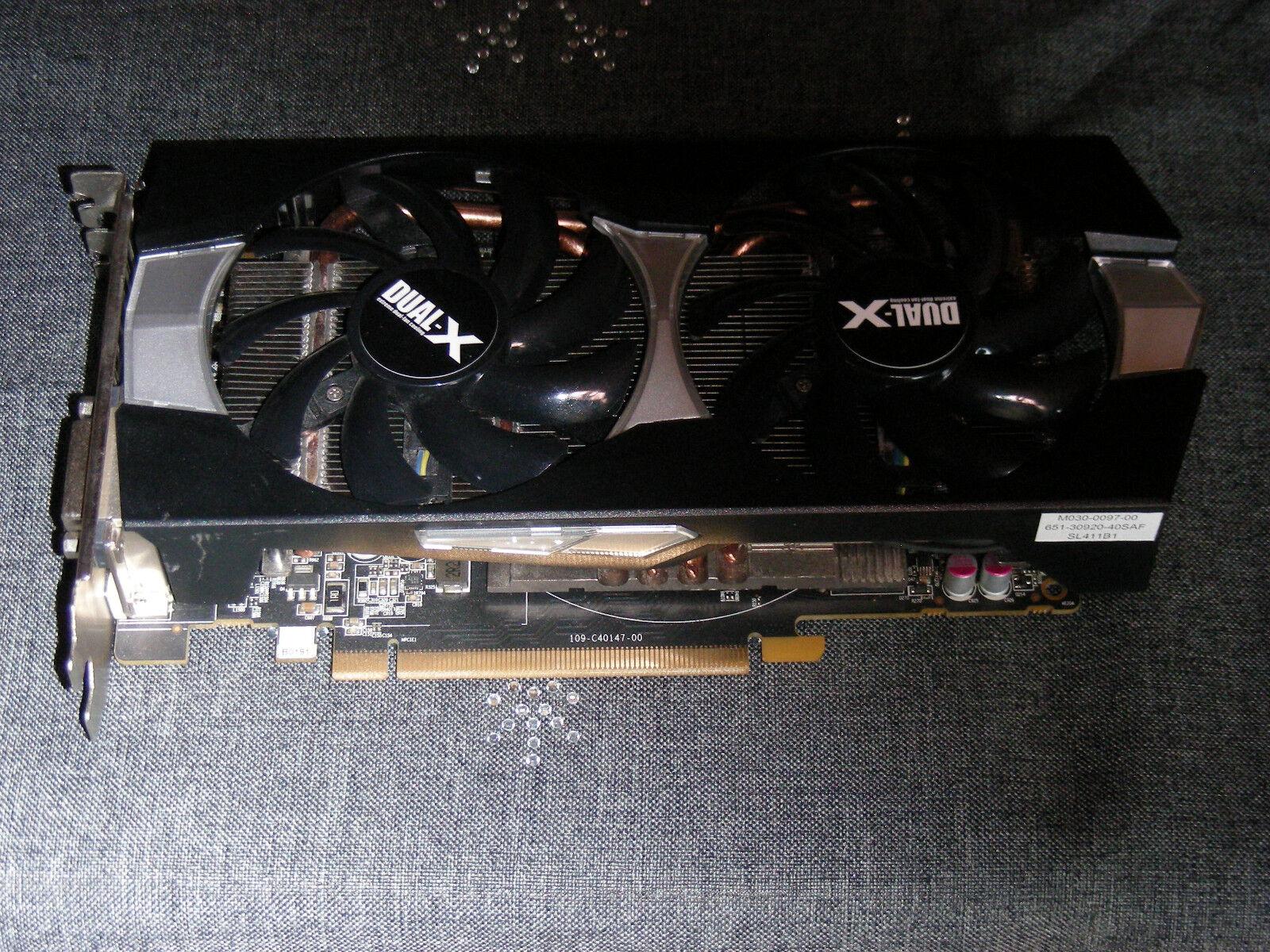 Sapphire 270X 11217-01-20G Dual-X Radeon R9 ATI Grafikkarte ist Defekt !!!