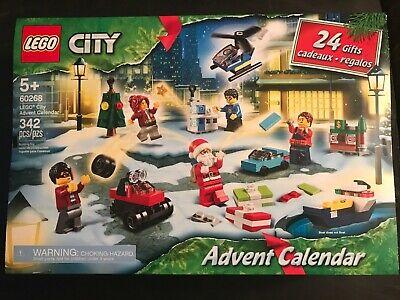 LEGO® City Advent Calendar 2020 Building Set 60268 NEW FREE SHIPPING