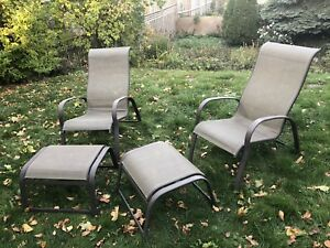 Two outdoor chairs for sale!