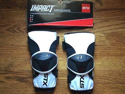 STX Lacrosse Impact Arm Guard Youth Medium NEW in original packaging