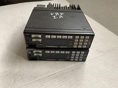 Lot Of 2 Motorola Spectra Vhf Radio Modelda7kx067w