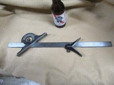 Brown Sharpe 12 Metric50mm Bladec-headprotractornice Bs6.9.21