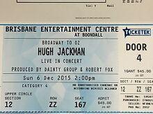 Hugh Jackman 'Broadway to Oz' SUN 6 DEC 2pm Springfield Lakes Ipswich City Preview