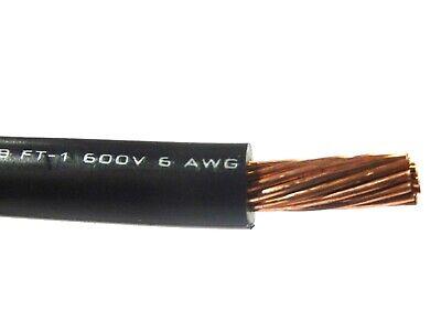 MIL Spec 28 AWG Gauge Stranded Hook Up Wire Black 0.0126 Diameter 250 ft Length 600 Volts